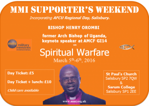 MMI Supporters' Weekend 2016 @ St Paul's Church Salisbury | Salisbury | United Kingdom