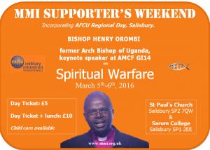 MMI Supporters Weekend
